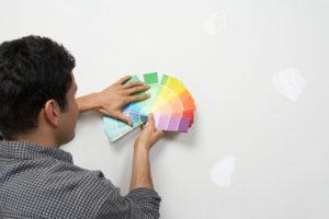 peinture pour la rénovation intérieure